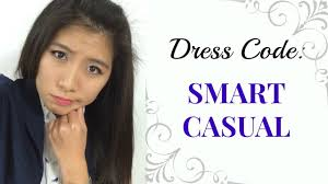 dress code smart casual lookbook aforalyce youtube