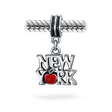 pandora halloween charms 925 silver new york red enamel apple dangle charm fits pandora
