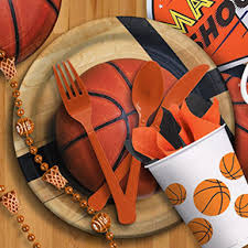 basketball party supplies sports theme from american carnival mart