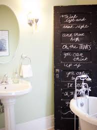bathroom door designs transform your bathroom with diy decor hgtv