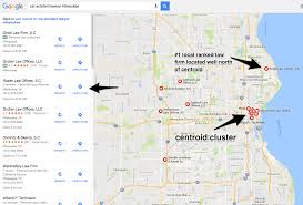 Zip Code Map Milwaukee by How To Rank 1 In Google Local Search When Located Outside The
