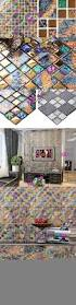 colored wall tiles fireplace art deco iridescent glass tiles