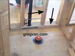 Basement Plumbing Rough In by Rough Plumbing Toilet Location Problem And Solution Youtube
