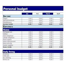 10 best images of free simple monthly budget template excel