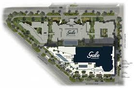 site plan design gale residences ftl u2013 fort lauderdale beach luxury condos