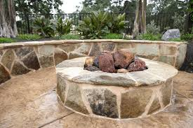 Lava Rock For Fire Pit by Fire Pit Calimesa Ca Photo Gallery Landscaping Network