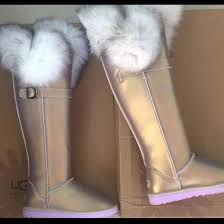 metallic fox fur uggs on sale ugg