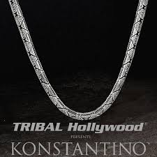 long necklace chain silver images Konstantino greek chain sterling silver chain for men png
