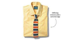 checks u0026 balances a guide to matching ties with gingham shirts