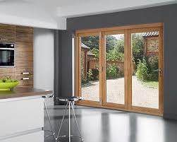 Ebay Patio Doors Openvu Classic Oak Folding Sliding Patio Door Set 7ft External