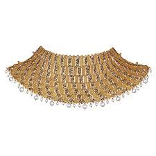 chokers necklace gold images Buy gold choker necklace best gold choker set designs online azva jpg