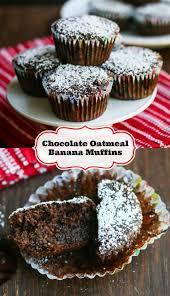 gluten free chocolate oatmeal banana muffins recipe jeanette u0027s