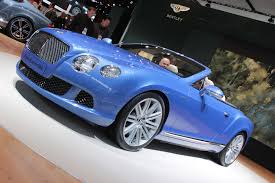 2013 bentley continental gt speed convertible 2013 detroit auto show
