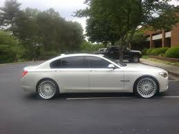 custom white bmw whitco 2009 bmw 7 series750li specs photos modification info at