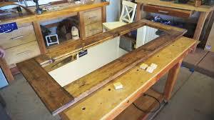 Make Barn Door by How To Make A Barn Door Style Rustic Floor Mirror