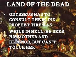Blind Prophet In The Odyssey Odyssey Timeline By Tommy Lorenz