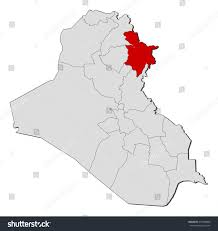 iraq map vector map iraq sulaymaniyah stock vector 418760800