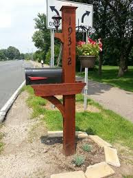 Wood Project Ideas Adults by Best 25 Mailbox Post Ideas On Pinterest Mail Boxes Mailbox