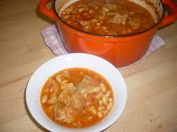 comment cuisiner des haricots blancs recette du ragoût de potrine de porc aux haricots blancs