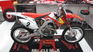 toy motocross bikes jeremy mcgrath u0027s retro crf450r off road motorcycles pinterest