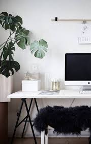 Home Decoration With Plants by 37 Stylish Minimalist Home Office Designs You U0027ll Ever See