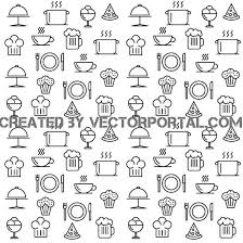 seamless pattern food food seamless pattern download at vectorportal