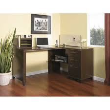 bush enterprise corner desk mocha cherry