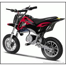 electric motocross bikes nitro 350w dirt bike in black red xtreme toys