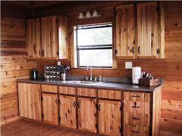 kitchens backsplash log cabin kitchens