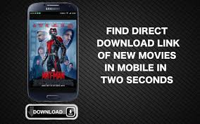 find direct download link of new movies in mobile