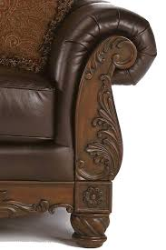 north shore sofa north shore dark brown 22603 by millennium royal furniture