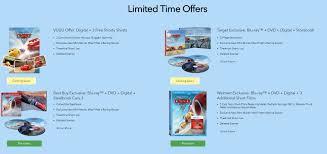 cars 3 blu ray steelbook best buy exclusive usa hi def