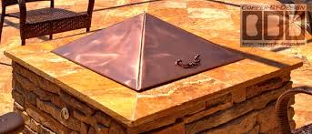 Firepit Covers Cbd S Copper Pit Cover Price Photo Page