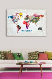 Canvas Map Of The World by 157 Best My Map Obsession Images On Pinterest World Maps Home