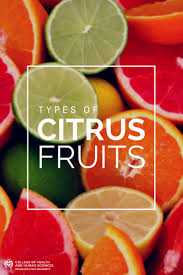 types of citrus fruits source colorado state university
