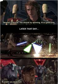 Darth Maul Meme - anakin you sandy cunt darth maul general grievous internet