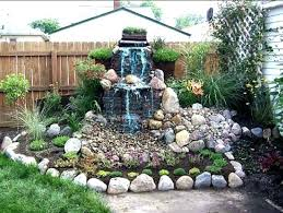 Small Garden Waterfall Ideas This Is Waterfall For Backyard Pictures Waterfall Backyard