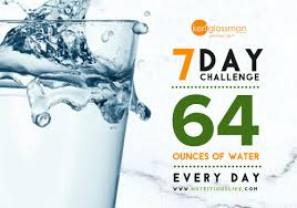 Challenge Water Na Challenge Drink Water 64 Ounces Every Day