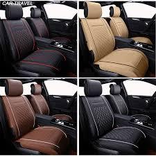 couvre si es auto nouveau luxe pu en cuir auto universel siège de voiture couvre siège