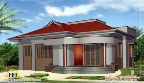 Single Floor House Designs Kerala by Beautiful Single Story Home Design Kerala Architecture Plans