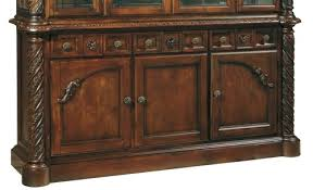 north shore dark brown dining room buffet d553 80 ashley