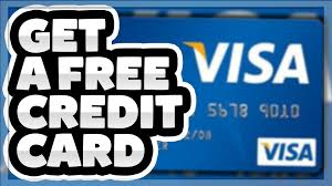 how to get a free credit card free visa gift card