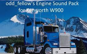 kenworth truck engines odd fellow u0027s engine sound pack for kenworth w900 v 1 0 mod