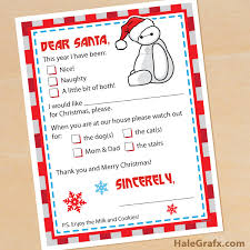 santa claus letters printable big 6 letter to santa claus
