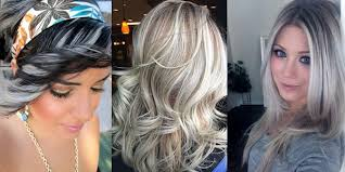 hair platinum highlights amazing silver highlights images and tutorials