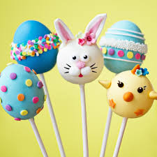 easter cake pops easter bunny and eggs cake pops yumbles