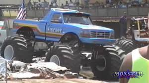 bigfoot monster truck youtube monster truck introductions fresno ca 1992 youtube