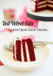 red velvet cake with cream cheese frosting make and takes