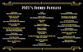 wedding reception playlist how to plan a 1920s themed wedding tasty catering chicago