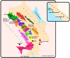 Map Of San Francisco Districts by Travel To The Napa Valley In Californias Wine Country Episode San